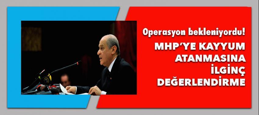 MHP'ye Paralel operasyon!