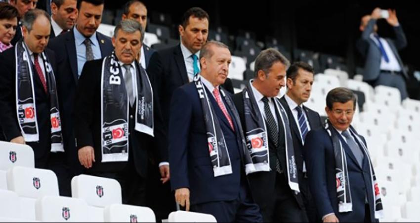 Beşiktaş unuttu Erdoğan unutmadı!