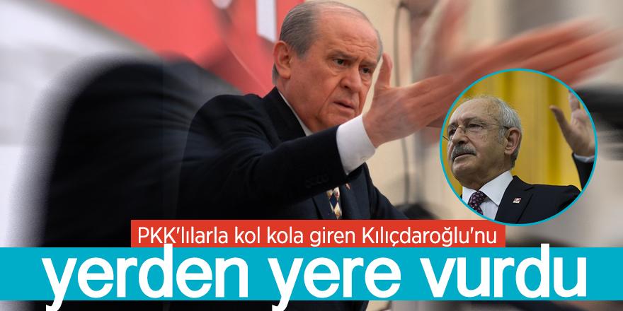 Bahçeli, Kılıçdaroğlu'nu yerden yere vurdu