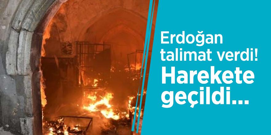 Erdoğan talimat verdi! Harekete geçildi...