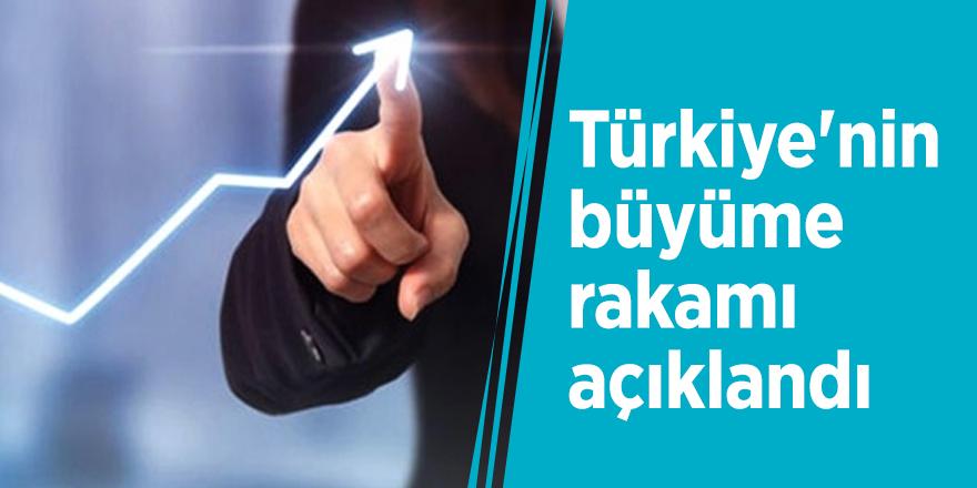 Türkiye'nin büyüme rakamı açıklandı