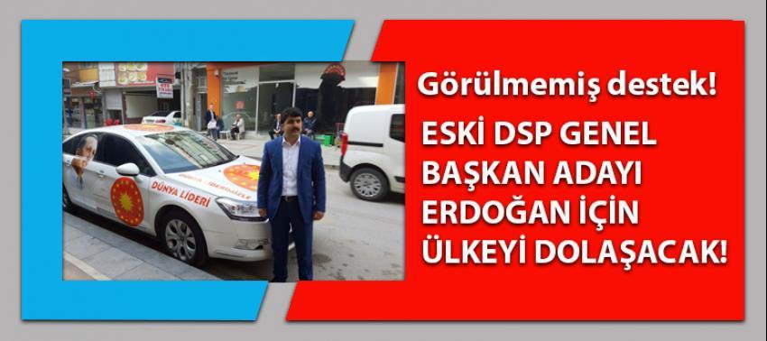 Eski DSP genel başkan adayı Erdoğan için bakın ne yapacak?
