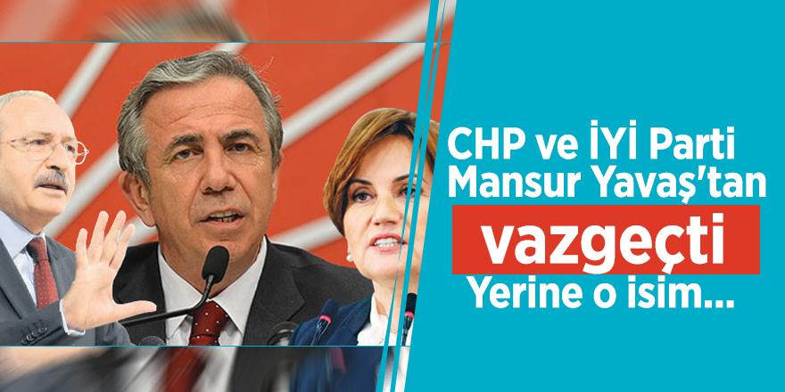 CHP ve İYİ Parti, Mansur Yavaş'tan vazgeçti! Yerine o isim...