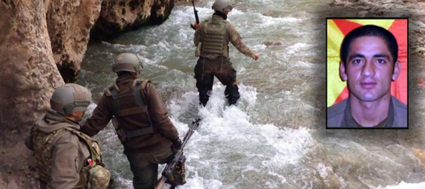Başına ödül konulan PKK'lı öldürüldü!