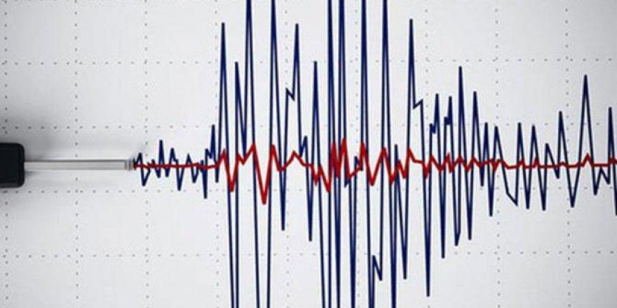 Antalya'da 4.1 büyüklüğünde deprem!