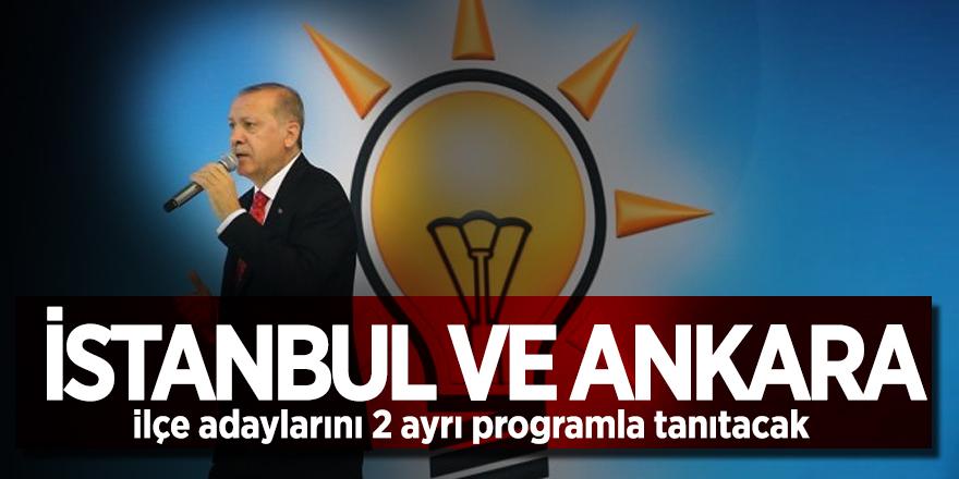 AK Parti, İstanbul ve Ankara ilçe adaylarını 2 ayrı programla tanıtacak
