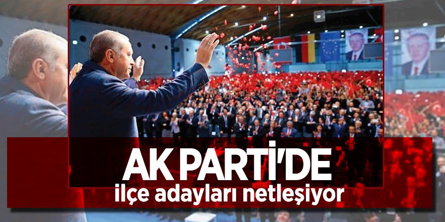 AK Parti'de ilçe adayları netleşiyor
