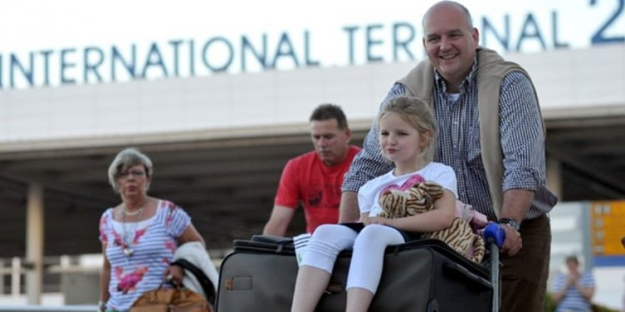 Rakam açıklandı! Türkiye'ye turist yağdı