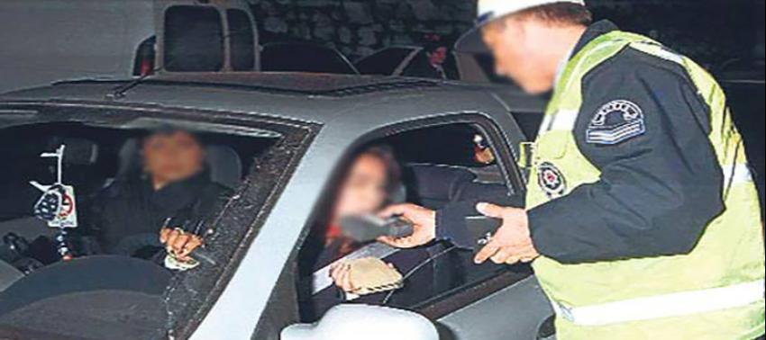 Alkollü araç kullananlara morg cezası