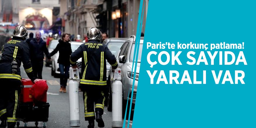 Paris'te korkunç patlama! Çok sayıda yaralı var