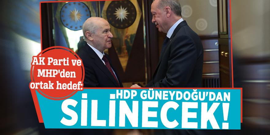 AK Parti ve MHP'den ortak hedef: HDP Güneydoğu'dan silinecek!