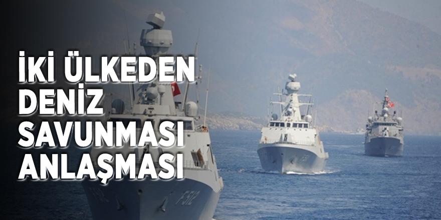 İki ülkeden deniz savunması anlaşması