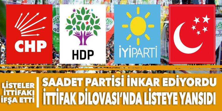 CHP-HDP-İP-SAADET ittifakı Dilovası'nda listeye yansıdı
