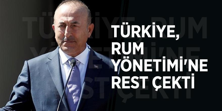 Türkiye, Rum Yönetimi'ne rest çekti