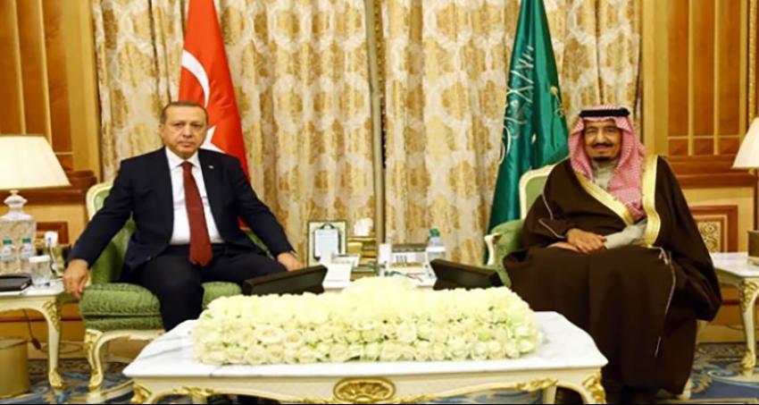 Erdoğan, Kral Selman'a devlet nişanını taktim etti