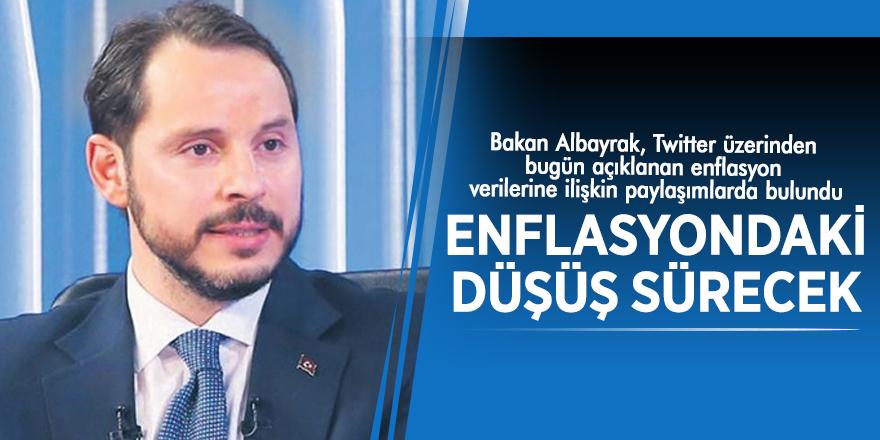Bakan Albayrak: Enflasyondaki düşüş sürecek