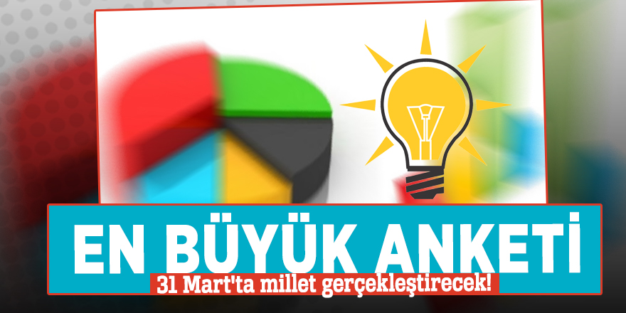 AK Partili Yazıcı: En büyük anketi 31 Mart'ta millet gerçekleştirecek!