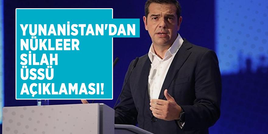 Yunanistan'dan nükleer silah üssü açıklaması!
