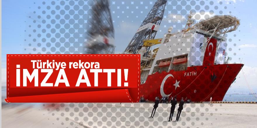 Türkiye rekora imza attı!