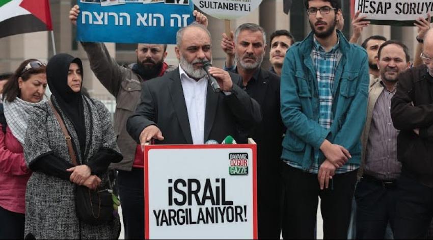 Bülent Yıldırım: İsrail'i affetmek söz konusu olamaz