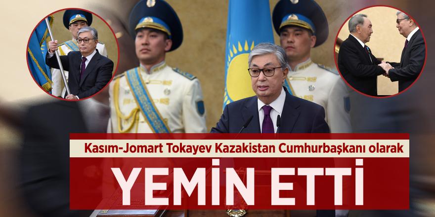 Kasım-Jomart Tokayev Kazakistan Cumhurbaşkanı olarak yemin etti