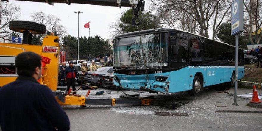 Beyazıt'ta 12 araca çarpan otobüsün şoförü için karar verildi