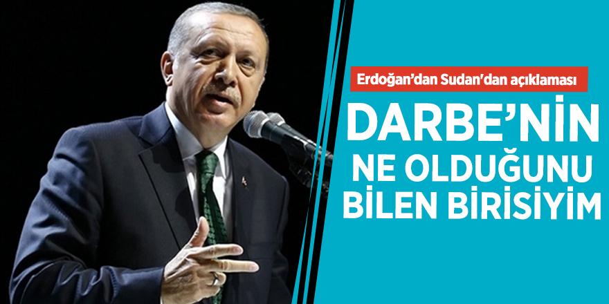 Başkan Erdoğan'dan darbe açıklaması!