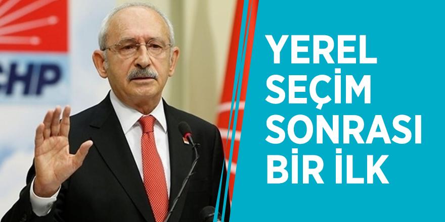 Kemal Kılıçdaroğlu'ndan yerel seçim sonrası bir ilk