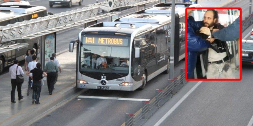 Metrobüsteki sapık tutuklandı!