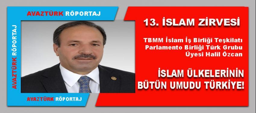 AK Parti Mv. Halil Özcan 13. İslam Zirvesini AVAZTÜRK'e değerlendirdi