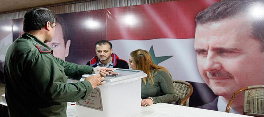 'Esed rejiminin düzenlediği seçimler göstermelik'