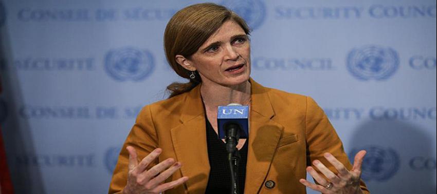ABD'nin BM Büyükelçisi Power'dan 'Suriye' çağrısı