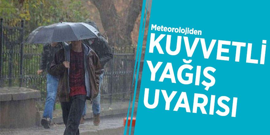 Meteorolojiden son dakika uyarısı!