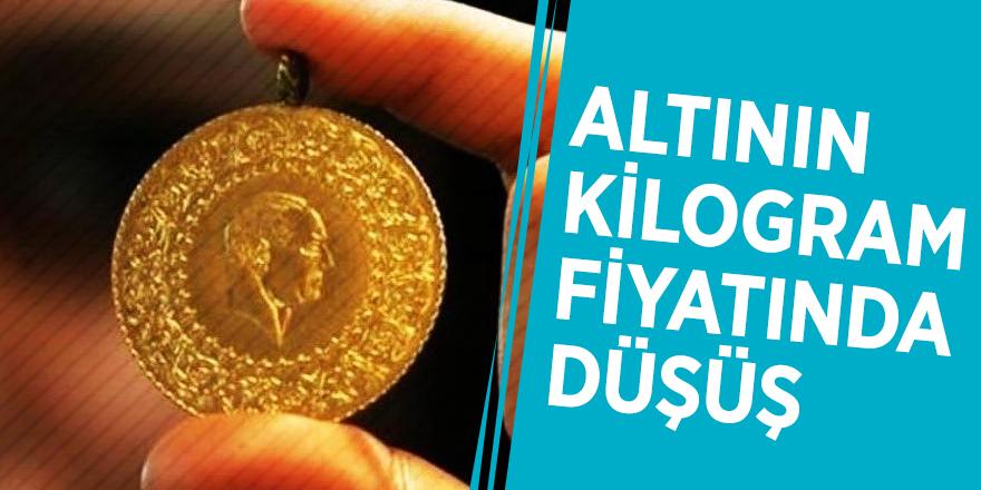Altının kilogram fiyatında düşüş