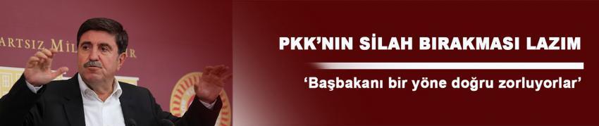 Altan Tan: PKK'nın acilen silah bırakması lazım