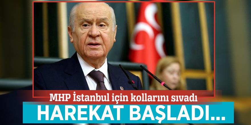 MHPİstanbul için kollarını sıvadı! Harekat başladı...