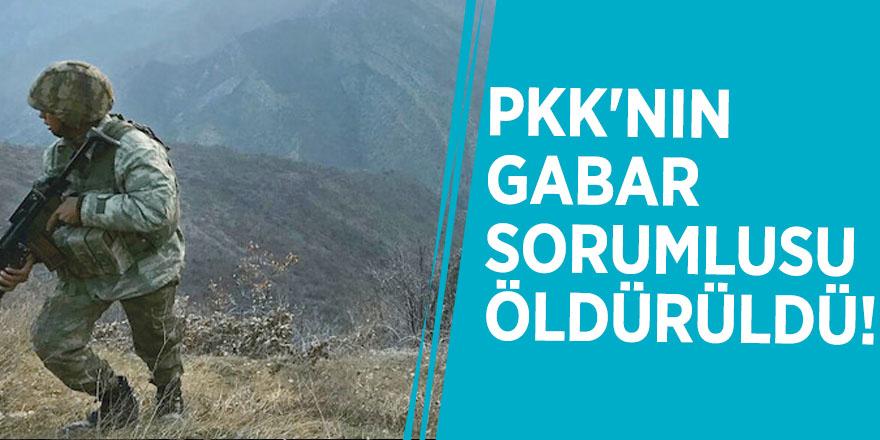 PKK'nın Gabar sorumlusu öldürüldü!
