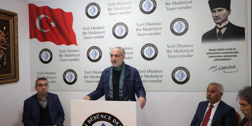 Yerli Düşünce Derneği Kırım Tatar Türkleri sürgününü ve 19 Mayıs'ın 100. yıl dönümünü andı