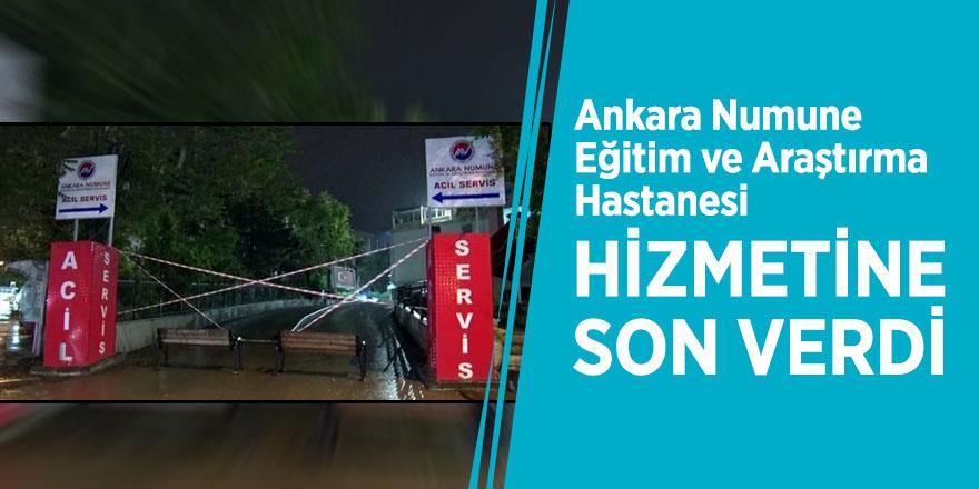 Ankara Numune Eğitim ve Araştırma Hastanesi, hizmetine son verdi