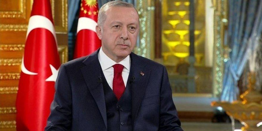 Başkan Erdoğan'dan Türk Kızılayı mesajı
