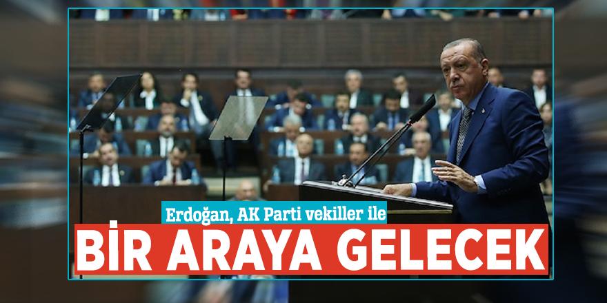 Erdoğan, AK Parti vekiller ile bir araya gelecek