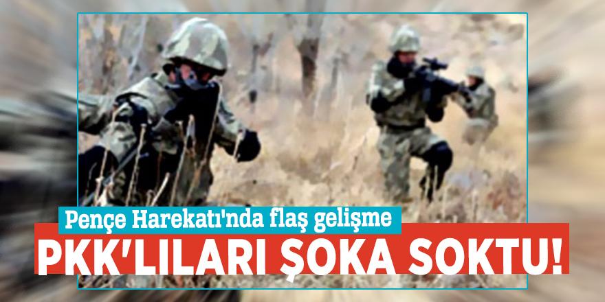 Komandolar PKK'lıları şoka soktu! Pençe Harekatı'nda flaş gelişme