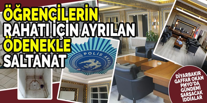 Diyarbakır Gaffar Okan PMYO Müdürü Ahmet Yarım hakkında şok iddialar!