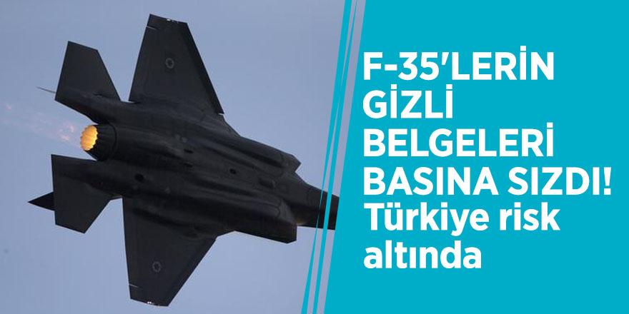 F-35'lerin gizli belgeleri basına sızdı! Türkiye risk altında
