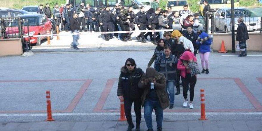 Edirne'de fuhuş operasyonu! 16 gözaltı