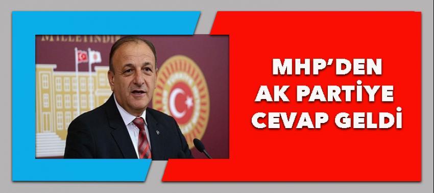 MHP'den AK Parti'ye olumlu cevap