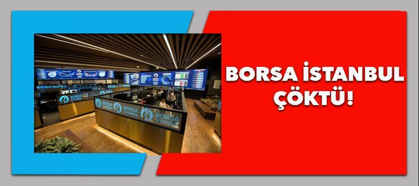 Borsa İstanbul sarsıldı!