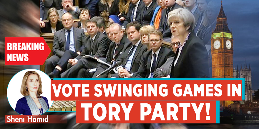 VOTE SWINGING GAMES IN TORY PARTY!