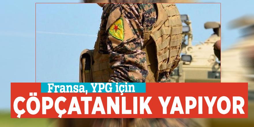 Fransa, YPG için çöpçatanlık yapıyor