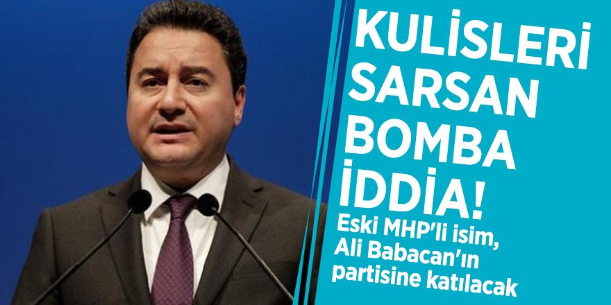 Kulisleri sarsan bomba iddia! Eski MHP'li isim, Ali Babacan'ın partisine katılacak